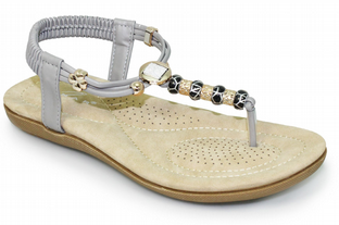 Lunar Womens Murano Grey Sandals